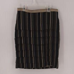 Anthropologie Eva Franco Striped Tired Skirt 4